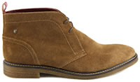 LAWSON SUEDE COGNAC - Base London