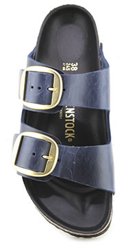 ARIZONA BIG BUCKLE BLUE - Birkenstock