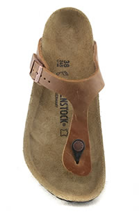 GIZEH ANTIQUE BROWN - Birkenstock