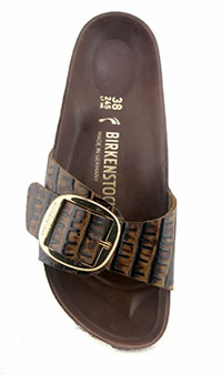 MADRID BIG BUCKLE GATOR BROWN - Birkenstock