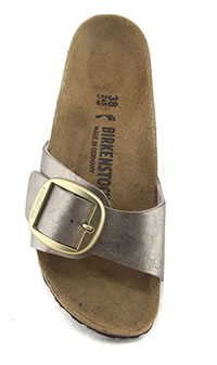MADRID BIG BUCKLE TAUPE - Birkenstock