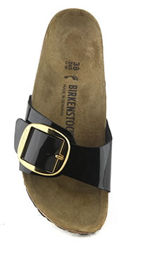 MADRID BIG BUCKLE VERNIS NOIR - Birkenstock