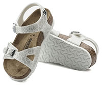 RIO MAGIC SNAKE WHITE - Birkenstock