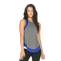 TANK DILLION BLEU - Body Language Sportswear