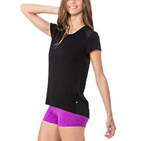 TSHIRT EVERLY BLACK - Body Language Sportswear