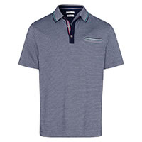 POLO PISTE NAVY GREEN - Brax