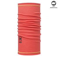 MERINO WOOL BUFF SOLID CORAL - Buff