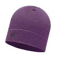 MIDWEIGHT MERINO HAT PURPLE - Buff