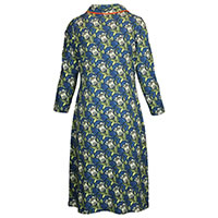 ROBE NENUPHAR BLUE ORANGE - Charles design