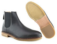 CLARKDALE GOBI BLACK LEATHER - Clarks