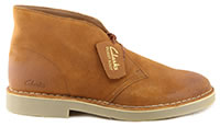 DESERT BOOT 2 DARK TAN SUEDE - Clarks