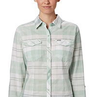 CAMP HENRY NEW MINT PLAID - Columbia