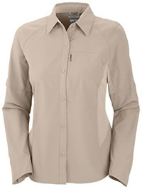 CHEMISE LS SILVER RIDGE FOSSIL - Columbia