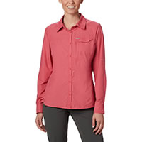 SILVER RIDGE LS ROUGE PINK - Columbia