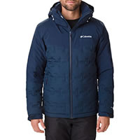 WILD CARD DOWN JACKET BLUE - Columbia
