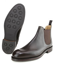 CHELSEA 5 DARK BROWN - Crockett & Jones