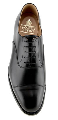 CONNAUGHT 2 BLACK CITY SOLE - Crockett & Jones