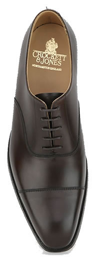 HALLAM BROWN LEATHER SOLE - Crockett & Jones