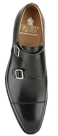 LOWNDES BLACK CITY SOLE - Crockett & Jones