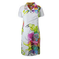 ROBE GALIA BLANC MULTI  - Dolcezza