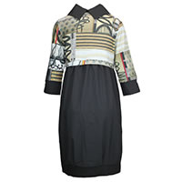 ROBE JANET BLACK SANDY - Dolcezza