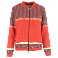 GILET ZIP ALBULA ORANGE MULTI - Dunque
