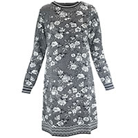 ROBE ROSEG BLACK WHITE - Dunque