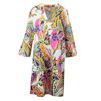 ELDORA DRESS MULTI - Emily Van Den Bergh