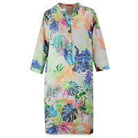 EPIK DRESS MULTI PALMS - Emily Van Den Bergh