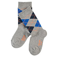 CLAS ARGYLE LIGHT GREY - Falke