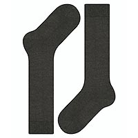 COMFORT WOOL KNEE HIGH DK GREY - Falke