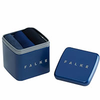HAPPY BOX 3P BLEU - Falke