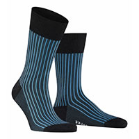 OXFORD STRIP ANTHRACITE - Falke