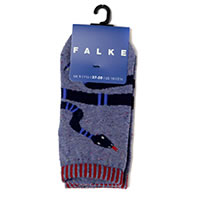 SNAKE LIGHT DENIM - Falke