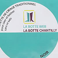POCHETTE CIRAGE NOIR - La Botte Chantilly