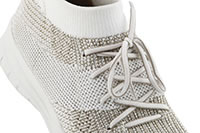 UBERKNIT SLIPON GOLD WHITE - Fitflop