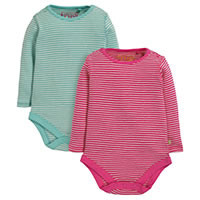 BODY PACK 2 COTON BIO - Frugi
