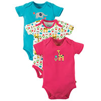 BODY PACK 3 GIRAFE - Frugi