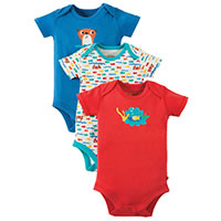 BODY PACK 3 OTARIE - Frugi