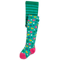 COLLANTS FLOWERS - Frugi