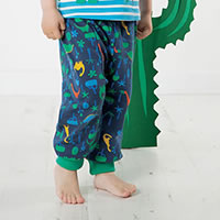 INTO JUNGLE BLEU VERT - Frugi