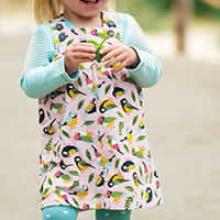 ROBE BIRDY ROSE - Frugi