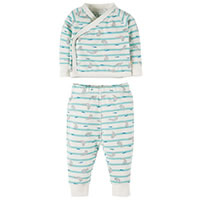 SEAL OUTFIT TURQUOISE - Frugi