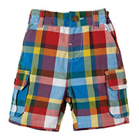 SHORT MADRAS - Frugi