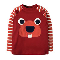 SWEAT CASTOR TERRACOTTA - Frugi