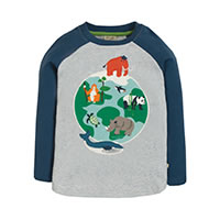 SWEAT MAPPEMONDE - Frugi