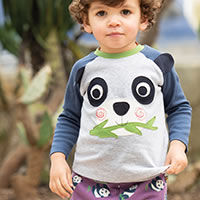 SWEAT PANDA - Frugi