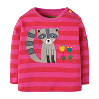 SWEAT RACOON TULIPE - Frugi