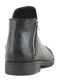 AGATA ZIP BLACK - Geox