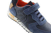 ALBEN WWF NAVY ORANGE - Geox